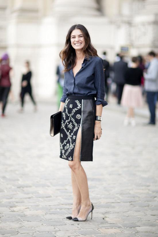 Paris fw street style olho m gico Fashion week paris 2013 street style